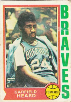 1974-75 Topps Basketball Garfield Heard