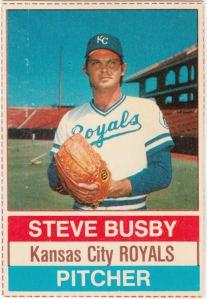 1976 Hostess Steve Busby