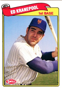 1989 Swell Baseball Greats Ed Kranepool