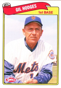 1989 Swell Baseball Greats Gil Hodges