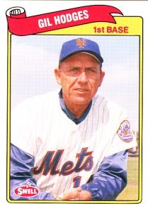 1989 Swell Baseball Greats Gil Hodges