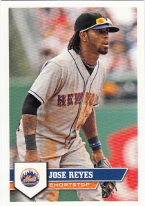 2011 Sticker Jose Reyes