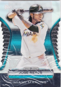 2012 Topps Golden Moments Die Cut Jose Reyes