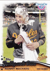 2013 Topps Opening Day Ballpark Fun Machado