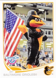 2013 Topps Opening Day Orioles Bird