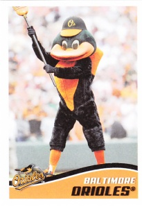 2013 Topps Stickers Orioles Bird