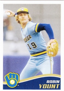 2013 Topps Stickers Robin Yount