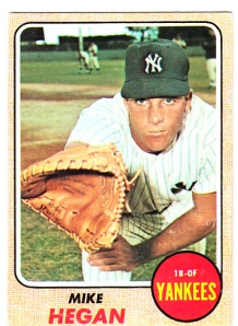 1968 Topps Mike Hegan
