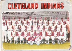 1970 Topps Indians Team