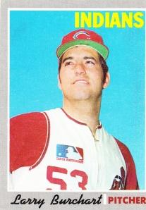 1970 Topps Larry Burchart