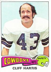 1975 Topps Football Cliff Harris