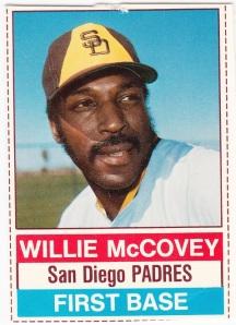 1976 Hostess Willie McCovey