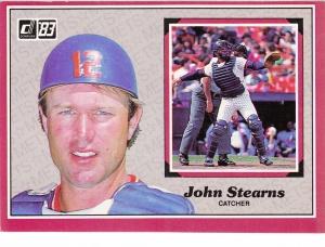 1983 Donruss Action All-Stars John Stearns