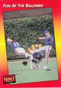 1992 Donruss Triple Play Fun At the Ballpark