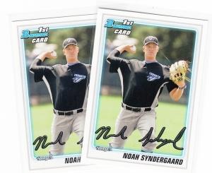 2010 Bowman DP&P Prospects Noah Syndergaard