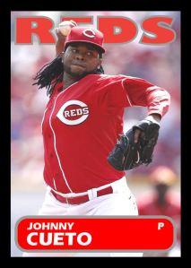 2013 TSR #125 - Johnny Cueto