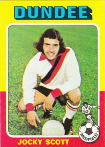 1975-76 Topps Scottish Footballers Jocky Scott
