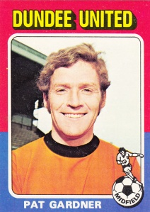 1975-76 Topps Scottish Footballers Pat Gardner