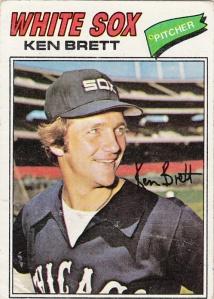 1977 Topps Ken Brett