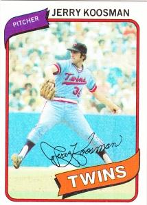 1980 Topps Jerry Koosman