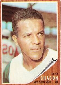 1962 Topps Elio Chacon