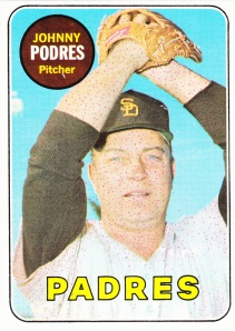1969 Topps Johnny Podres