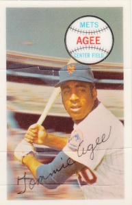 1970 Kellogg's Tommie Agee