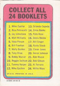1970 Topps Booklets Cleon Jones_0002