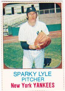 1975 Hostess Sparky Lyle