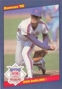 1986 Donruss Action All-Stars Ron Darling