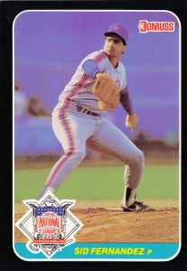 1987 Donruss All-Star Sid Fernandez