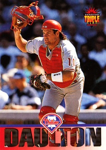 1993 Triple Play Darren Daulton