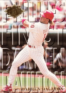 1994 Ultra Phillies Finest #2 Darren Daulton