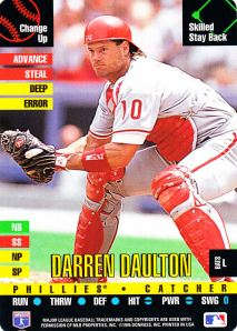 1995 Donruss Top Of The Order Darren Daulton