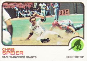 1973 Topps Chris Speier