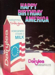 1976 Mets Yearbook Dairylea ad