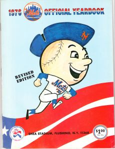 1976 Mets Yearbook Revised Edition