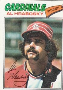 1977 Topps Al Hrabosky