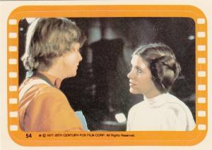 1977 Topps Star Wars Sticker 54