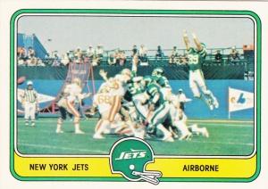1981 Fleer New York jets
