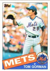 1985 Topps Tom Gorman