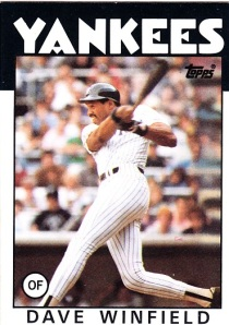 1986 Topps Dave Winfield