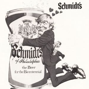 Schmidt's Beer Ad From Mets Yearbook