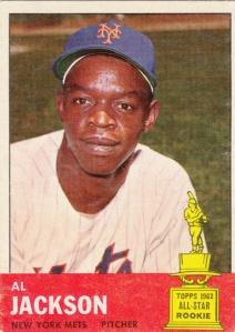 1963 Topps Al Jackson