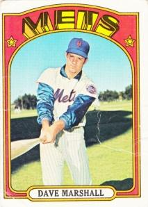 1972 Topps Dave Marshall
