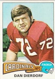 1975 Topps Football Dan Dierdorf