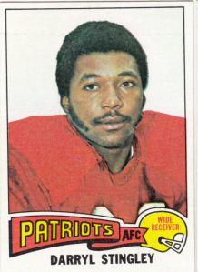 1975 Topps Football Darryl Stingley