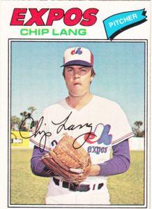 1977 OPC Chip Lang