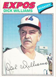 1977 OPC Dick Williams