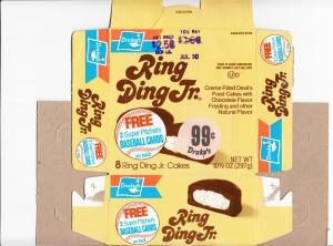 1987 Drake's Ring Ding Box